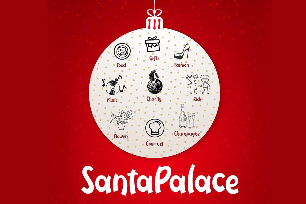 Santa Palace en Palacio de Saldaña