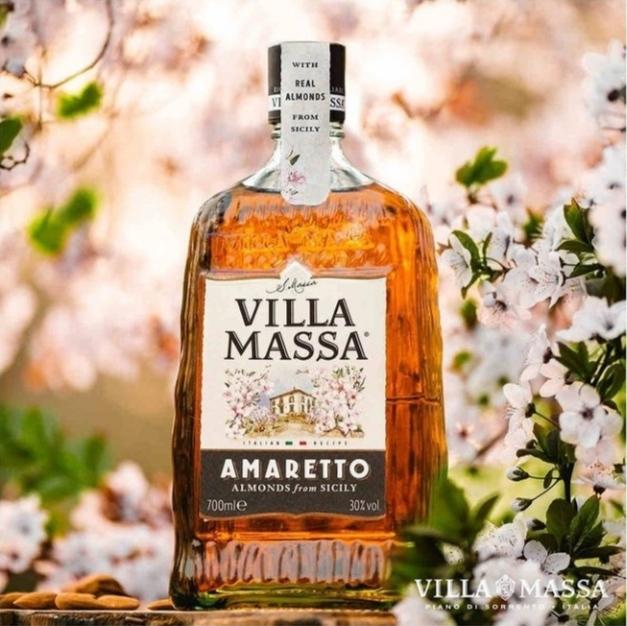 Llega a España 'Villa Massa Amaretto', el auténtico sabor italiano elaborado con almendras de alta calidad de Sicilia